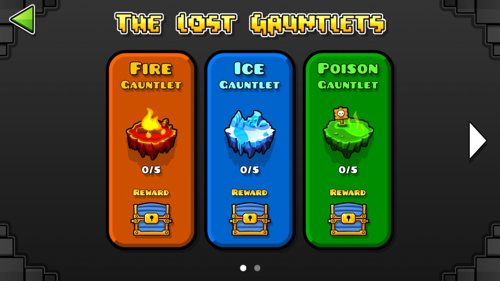 The Lost Gauntlets