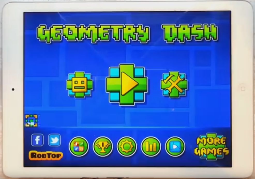 geometry dash para ipad