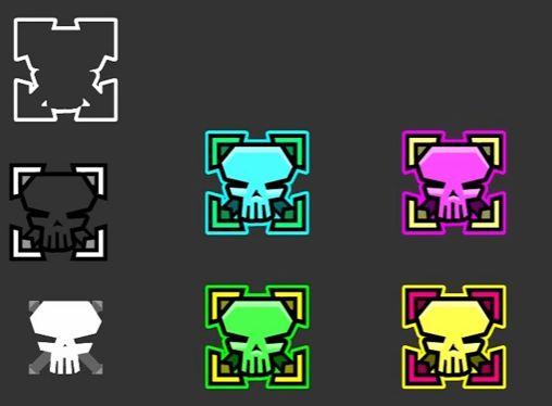 iconos geometry dash