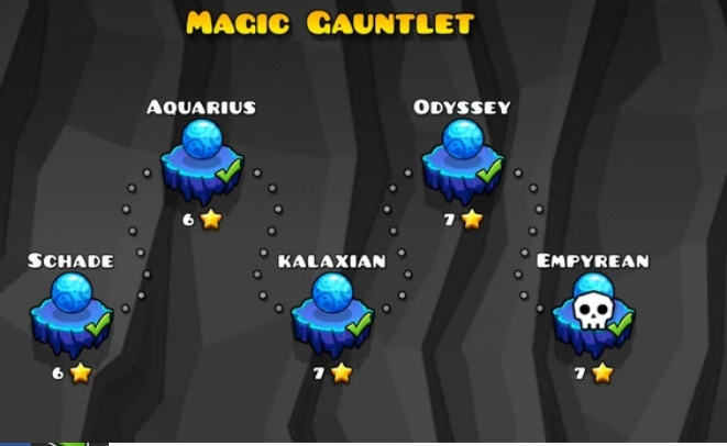 magic gauntlet