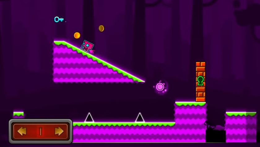 modo aventura geometry dash