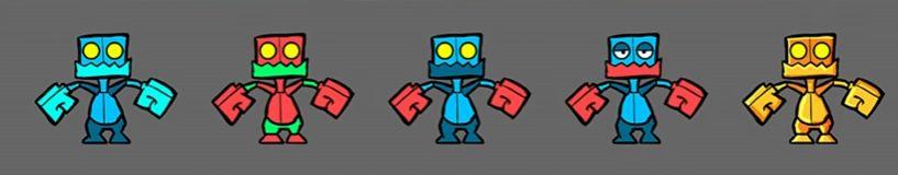 personajes geometry dash 2.2